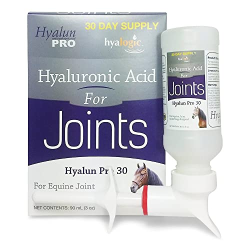 Buy Hyalogic Hyaluronic Acid Horse Joint Supplement–Pure