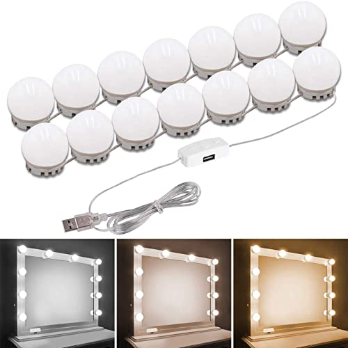 Pretmess Hollywood Style Vanity, Makeup Mirror Light Not Working