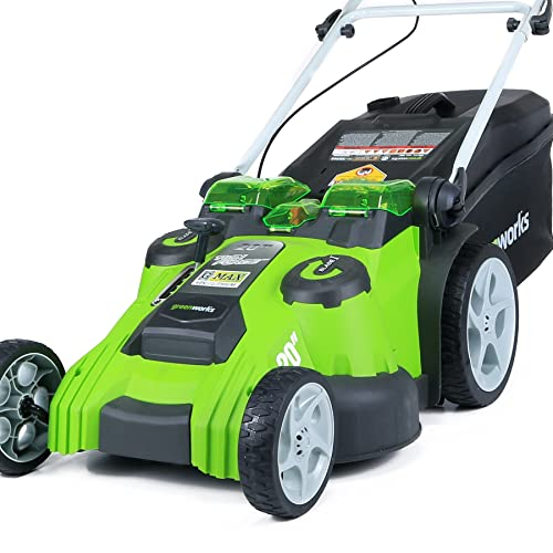 Greenworks 25322 G Max 40v Li Ion 16 Inch Cordless Lawn Mower 1 4ah Battery And A Charger Inc Buy Products Online With Ubuy Singapore In Affordable Prices B00gx9wnp2