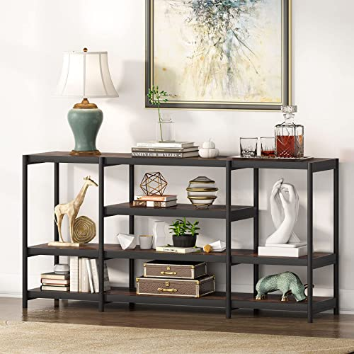 Tribesigns Rustic Console Sofa Table, Sofa Table As Tv Stand