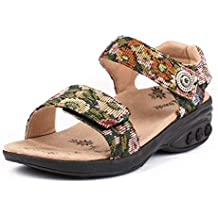 fecadfd8b0 Therafit Melody Adjustable Denim Sandal - for Plantar Fasciitis/Foot Pain
